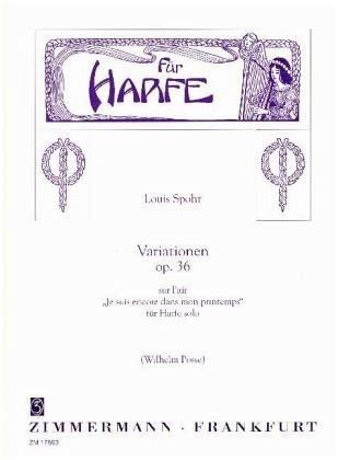 Variationen über ein Thema von Mehul opus.36: für Harfe