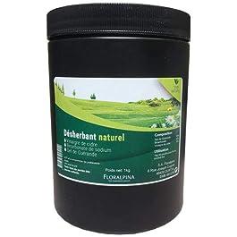 Traitement naturel pour le jardin 1kg (mauvaise herbe)