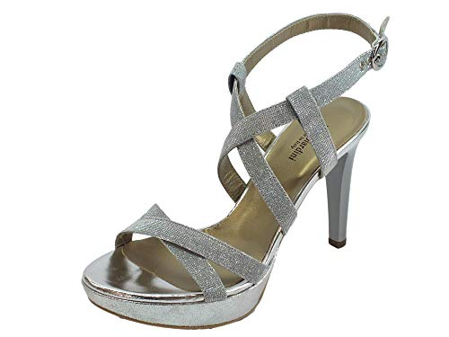 Nero Giardini Sandalo Donna MOD. P908490DE Ghiaccio 37