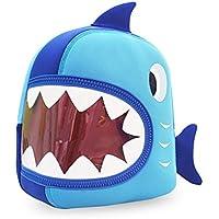 Hanaya bambini del capretto Zaino Bambini Shark scuola dello zaino borsa carina ragazzi Viaggi animale della Blue Zoo - Zoo Blu Animali