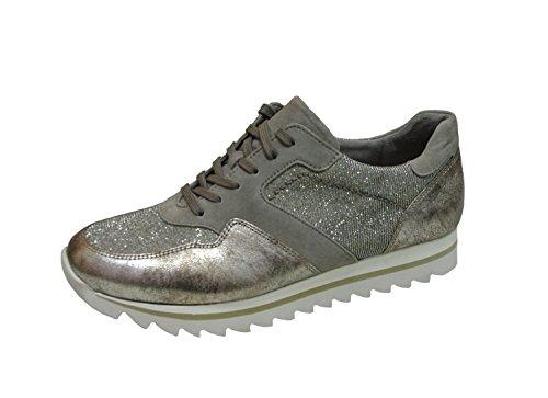 Mesdames Sneaker Gabor 63.301.62 torba platine échangeables 38 38,5 39 40 grau