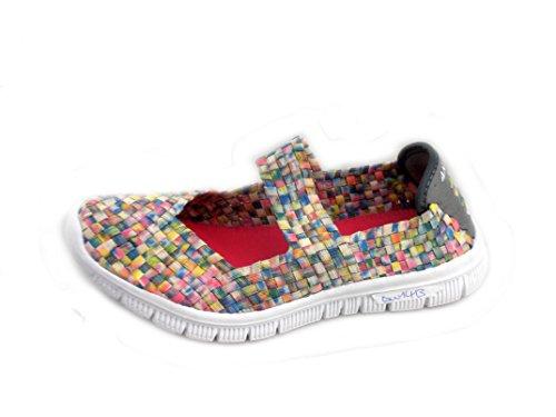 Rebelde , Baskets pour femme Multicolore