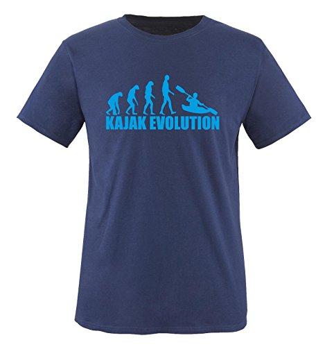KAJAK EVOLUTION - Kinder T-Shirt Navy/Blau 122-128
