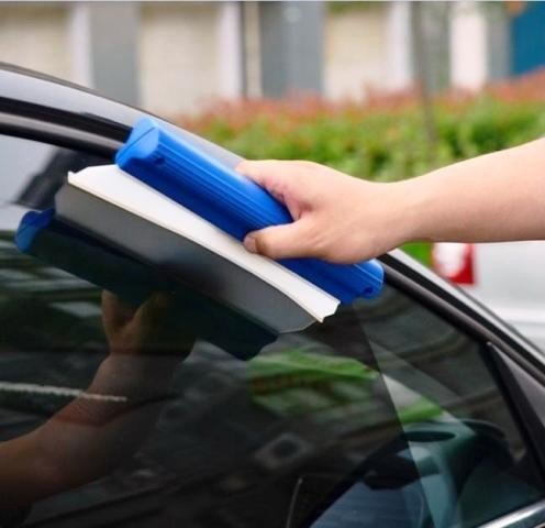 Car Squeegee Glass Window Dryer Silicone Blade Cleaning Water Wiper? Duster (Big)