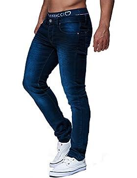 LEIF NELSON Herren Hose Jeans Jeanshose Freizeithose Skinny Denim LN303