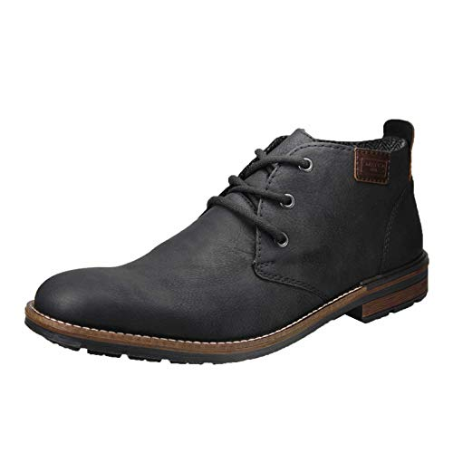Rieker Herren B1340 Desert Boots (Schwarz/Kastanie 01), 40 EU