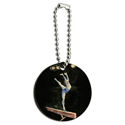 gymnaste-bleu-gymnastique-vault-cheval-darcons-en-bois-rond-en-bois-cle-chaine