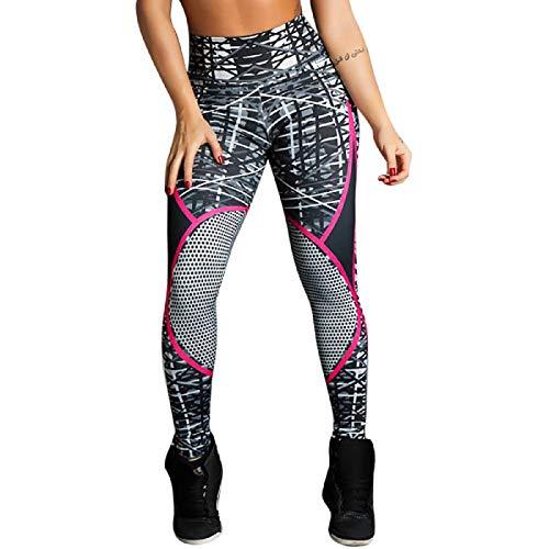 Barlingrock Fashion Womens Print Leggings Sports Gym Yoga Fitness Fitness  Pantalons de Sport 1d9d9efd4d2