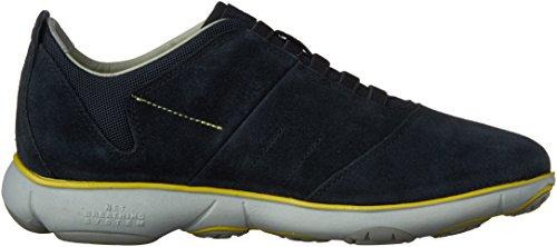 Geox U Nebula B,Herren  Hi-Top Sneakers Blau (Navyc4002)