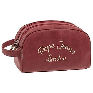 Pepe Jeans Original Neceser de Viaje, 4.99 Litros, Color Rojo
