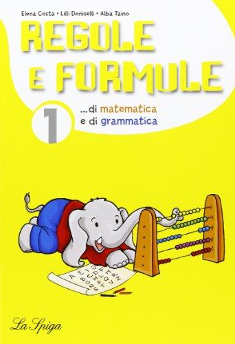 Mat-ita. Regole e formule. Per la Scuola elementare: 1