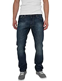 Urban Classics Straight Fit Jeans Black Coated