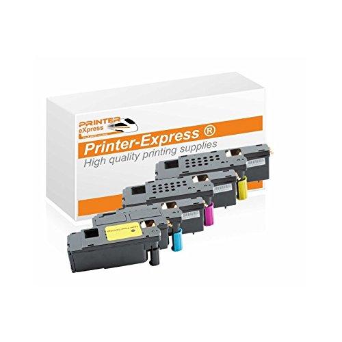 Printer-Express XL Toner 4er Set ersetzt Dell E525 für Dell E525, E525W Drucker Drucker - Dell Drucker