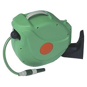 Natrain Enrollador Automático de Manguera, Verde, 44x22x40 cm, Nrw1210