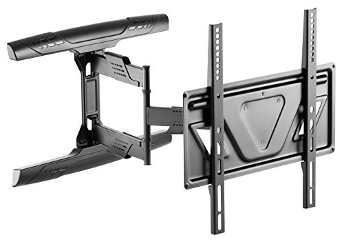 RICOO Soporte TV Pared Inclinable y Giratorio S5944 para Pantallas de 32-55 Pulgadas Aprox. 81cm-140cm...