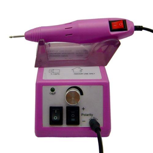 t Werkzeuge: Belle Elektrische Nagellack Maniküre Pediküre Drill-Datei-Set mit Bits für Gel, Acryl, natürliche Nägel, Rosa ()