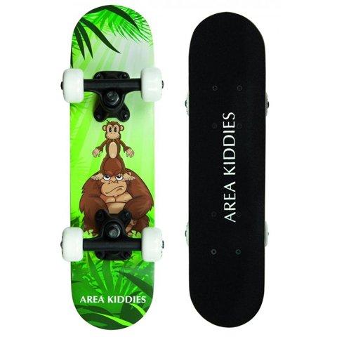 """Area Kiddies' Kinderboard """"Monkey Dad"""" - kleines Anfänger Skateboard für Kinder 3 bis 5 Jahr"""