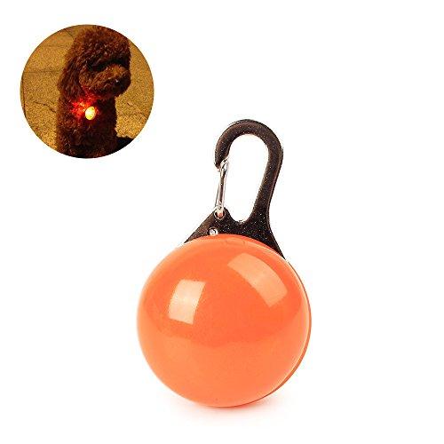 Blinkendem Safety Dog Halsband blinker-pet rund Flash pendant-led Leichtes Hunde light-ufo Sicherheit Warnung Licht, Weihnachten, New Year 's Day Geschenk von Krawatte langxian