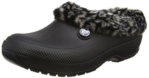 Crocs Classic Blitzen III Animal, Unisex / Erwachsene Clogs, Schwarz (Black/tumbleweed), 36/37 EU