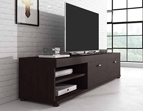 tv m bel konsole tisch schrank elsa 140 cm dunkel eiche wenge smash. Black Bedroom Furniture Sets. Home Design Ideas