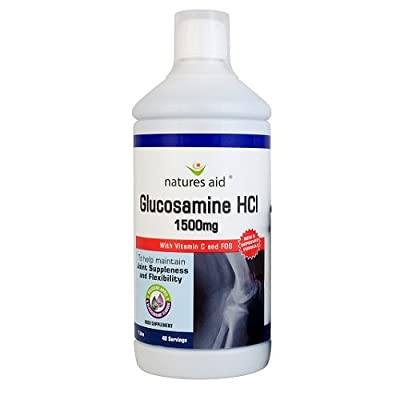 Natures Aid Glucosamine HCI 1L from NAVX2