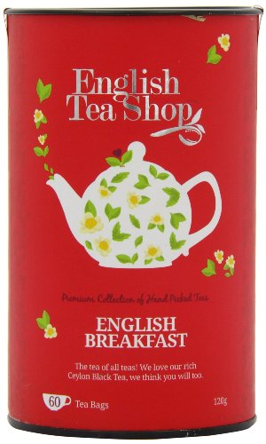 English Tea Shop - English Breakfast, 60 Teebeutel in Dose