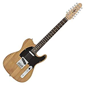 knoxville deluxe 12 string electric guitar by gear4music musical instruments. Black Bedroom Furniture Sets. Home Design Ideas