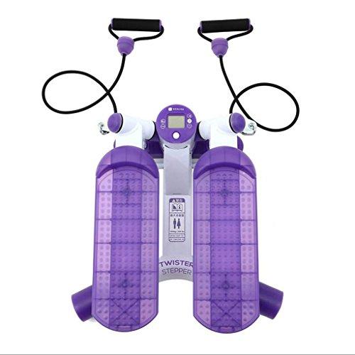 LY-01 Stepper Haushalt Steppers Fitnessgeräte Öfen Mini Mini Foot Machine Weight Loss Machineup-Stepper für Anfänger und Fortgeschrittene, klein und kompakt