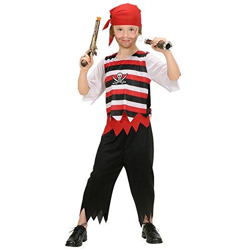 Widmann 58547 - Kinderkostüm Pirat exklusiv, Größe 140 (Teen Sexy Halloween Kostüme)