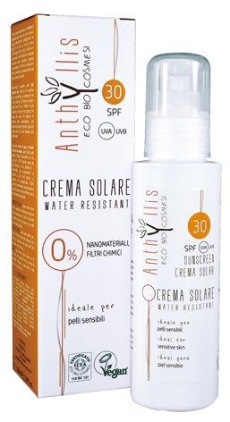 ANTHYLLIS - Sonnencreme SPF 30 - Wasserdicht - ohne Nanomaterialien und chemische Filter - ideal für die empfindliche Haut - 100 ml