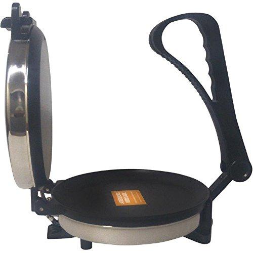 Bright Flame Roti Maker Multi Utility (Uttapam, Dosa, Pizza, Khakhra, Tikki, Paratha, Chapati, Etc) 900 W Silver