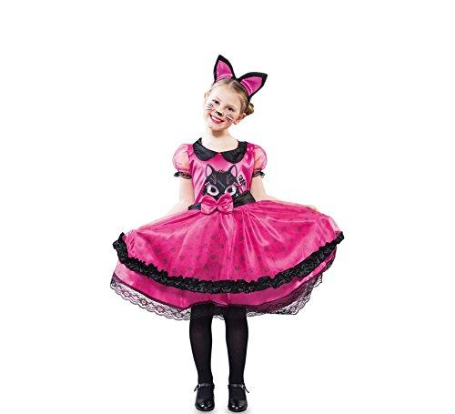 Imagen de disfraz de gatita can can para niña