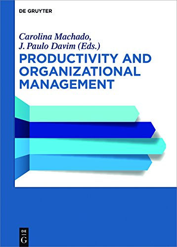 Productivity and Organizational Management (English Edition)
