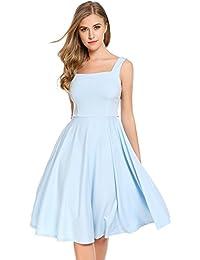 Kleid hellblau schleife