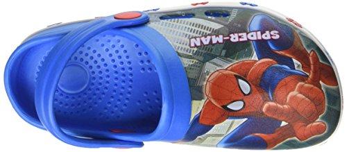 Marvel  S17196laz, Chaussures souple pour bébé (garçon) Blu (Royal)