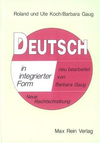Deutsch in integrierter Form;