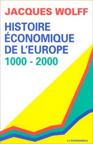 Histoire conomique de l'Europe: 1000-2000