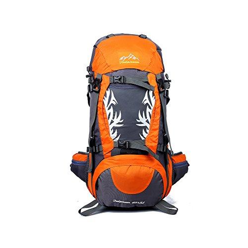 YAAGLE Neu Outdoor Sport Bersteigen Tasche Camping Rucksack professionelle wasserdichte Radfahrentasche Damen und Herren Unisex-blau orange
