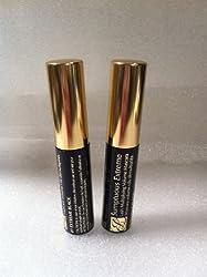 Estee Lauder Sumptuous Extreme Lash Multiplying Volume Mascara 01 Extreme Black Lots of 2 0. 1oz/2. 8ml*2