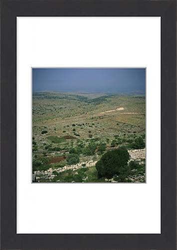 framed-print-of-aerial-view-over-the-afrin-valley-with-the-plain-of-amuq-beyond