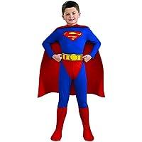 Rubie 's oficial de Superman para niños disfraz para disfraz de cómics de superhéroe para niño