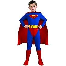Superman - Childrens Disfraz - Pequeño - 117cm