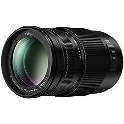 Panasonic Lumix Objectif Téléphoto pour capteur micro 4/3 100-300mm F4.0-5.6 H-FSA100300E (Zoom Ultra Puissant, Stabilisé, Tropicalisé, equiv. 35mm : 200-600mm) Noir - Version Française