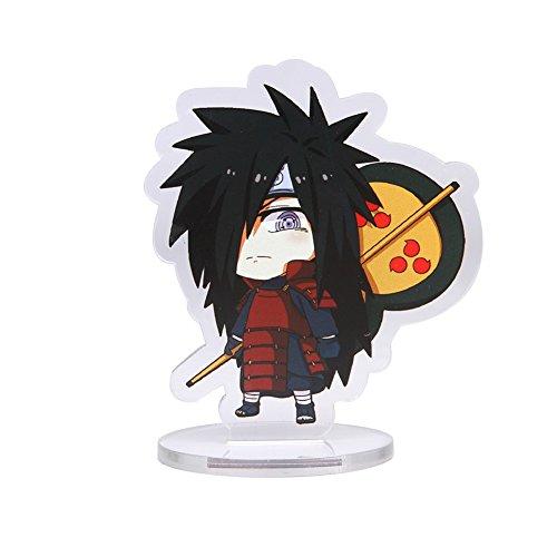 Coaste Antilane Naruto Shippuuden Standing Figur Actionfigur Desk Stand Miniature (Uchiha ()