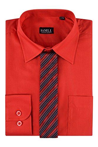 Aelstores Neues Jungen Hemd Kinder Tiefebene Lange Sleeved Alter Festlich gekleidet Elegante Kleidung Alter Größe 1-15 Jahre formale Partei-