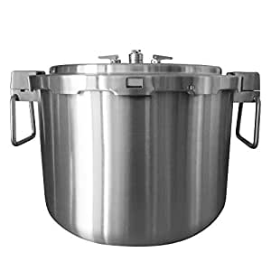 Buffalo QCP435 37-quart Stainless Steel Pressure Cooker and Canner