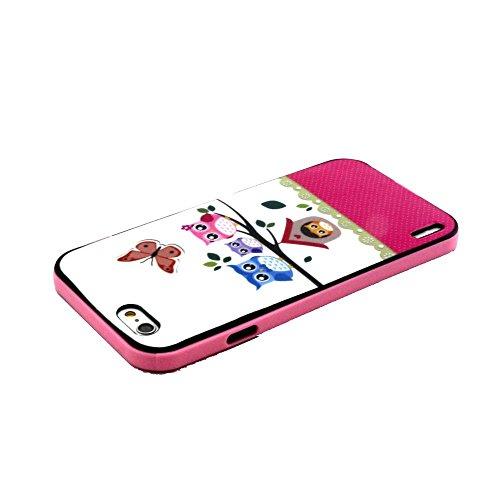 IPhone 6 / 6S (4.7 inch) Coque, MOONCASE Coloré Motif TPU Silicone Gel Étui Housse Protection Shell Cover Case Pour IPhone 6 / 6S (4.7 inch) YT14 YT03