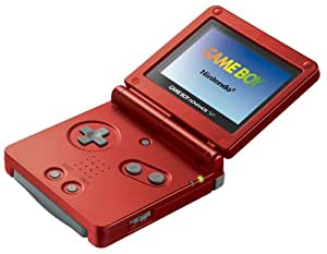 Game Boy Advance SP Flame Red