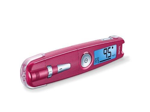 Beurer GL 50 mg/dl Blutzuckermessgerät, Pink preisvergleich