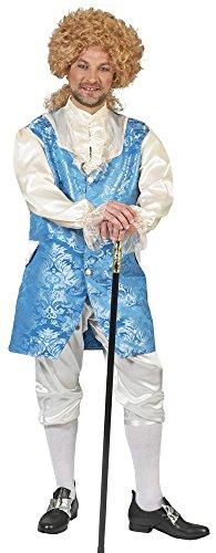 Barock Kostüm Johannes mit Weste für Herren - Gr. 60 62